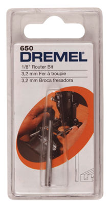 "Dremel 650 1/4"" Straight Router Bit"""