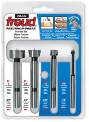 Freud Pb-104 4 Piece Precision Shearª Forstner Bit Set
