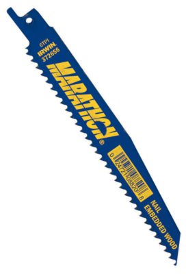 """Irwin 372656B 6"""" 6 Tpi Reciprocating Blade Pack 25Count"""""""