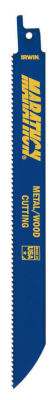 "Irwin 372624P5 6"" 24 Tpi Metal Cutting Reciprocating Saw Blade 5 Count"