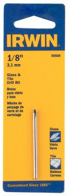 "Irwin 50508 1/8"" Glass & Tile Bit"
