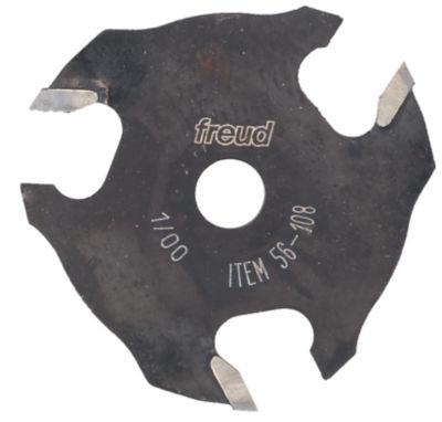 "Freud 56-108 1/8"" 3T Three Wing Slotting Cutter"