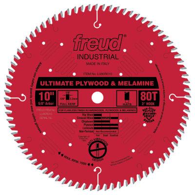 "Freud Lu80R010 10"" 80T Finish Work Table Saw Blade"""