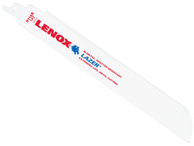 "Lenox 24906T9114R 9"" 14 Tpi Bi Metal Reciprocating Saw Blades 2 Count"