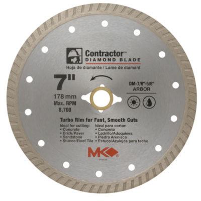 "Mk Diamond 167022 7"" Contractor Diamond Blade"