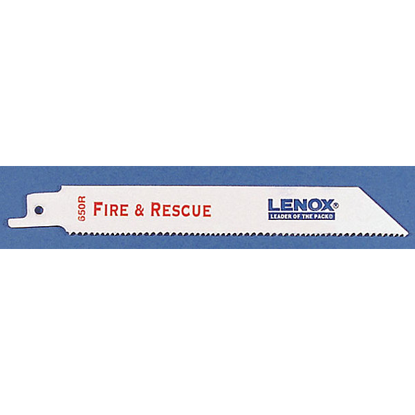 "Lenox 20592-650R 6"" 10 To 14 Tpi Metal Heavy Duty Reciprocating Saw Blade"