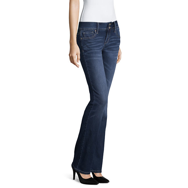Hydraulic Slim Fit Bootcut Jeans-Juniors