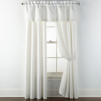 Liz Claiborne Mirage Rod-Pocket Curtain Panel