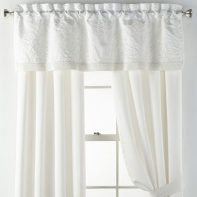 Liz Claiborne Mirage Rod-Pocket Single Curtain Panel