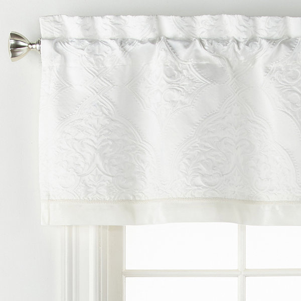 Liz Claiborne Mirage Rod-Pocket Tailored Valance
