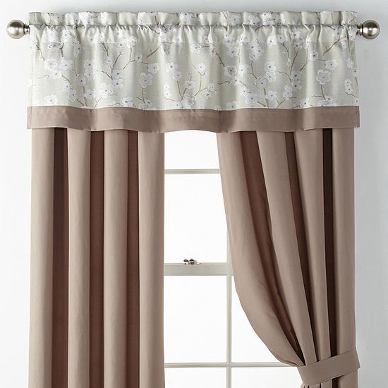 Jc Penny Home: JCPenney Home Japanese Cherry Blossom Rod-Pocket Curtain