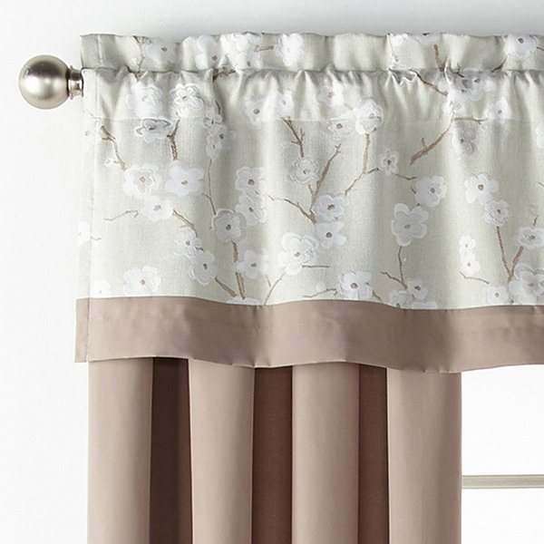 JCPenney Home Japanese Cherry Blossom Rod-Pocket Curtain Panel
