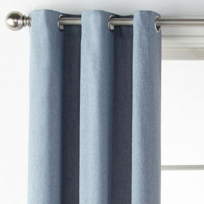 JCPenney Home Regatta Grommet-Top Curtain Panel