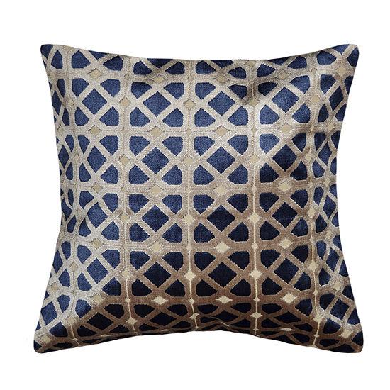 Augusta Square Throw Pillow