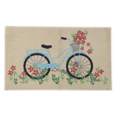 JCPenney Home Bicycle Rectangular Rugs