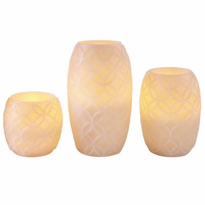 Apothecary Led Candles Everyday Core 3-pc. Flameless Candle