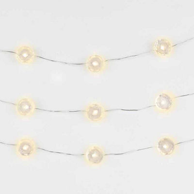 String Lights Led Micro Diamonds 10Ft