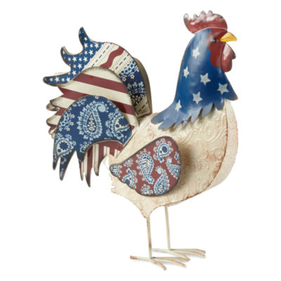 JCPenney Home Americana Rooster Figurine