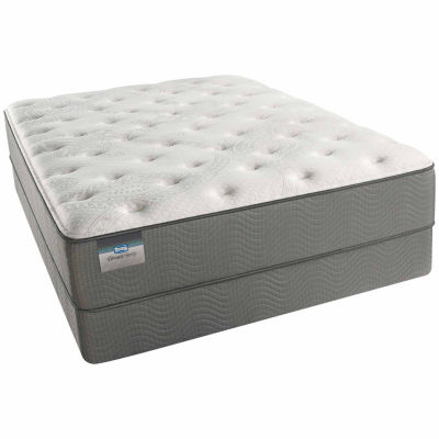 BeautySleep® Archers Cay Cushion Firm Tight-Top Mattress + Box Spring