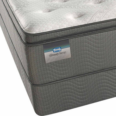 BeautySleep® Allegra Plush Pillow-Top - Mattress + Box Spring