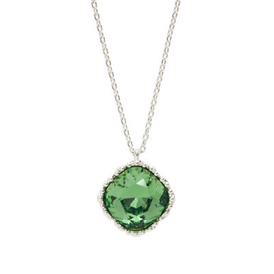 City Rocks Swarovski Brass 20 Inch Chain Necklace