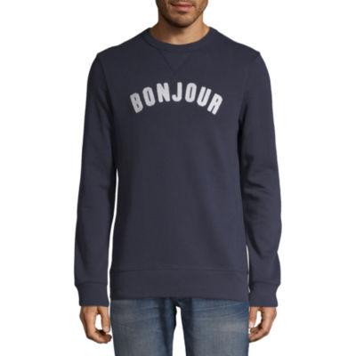Peyton & Parker Mens Crew Neck Long Sleeve Sweatshirt