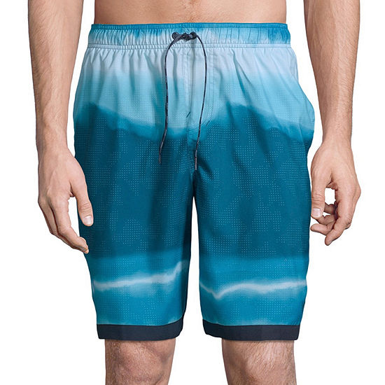 "Nike Optic Halo Horizon 9"" Volley Trunks"