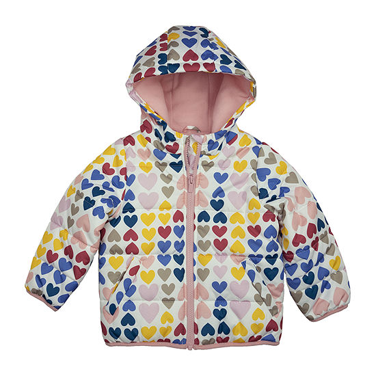 Carter's Baby Girls Hooded Heavyweight Puffer Jacket