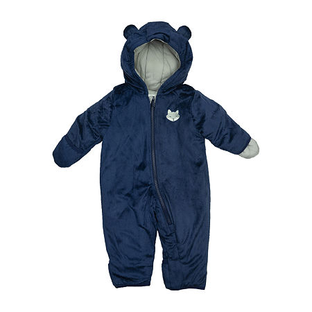 Carter's Baby Girls Heavyweight Snow Suit, 6-9 Months , Blue