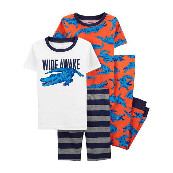 Carter's Little & Big Boys 4-pc. Pajama Set