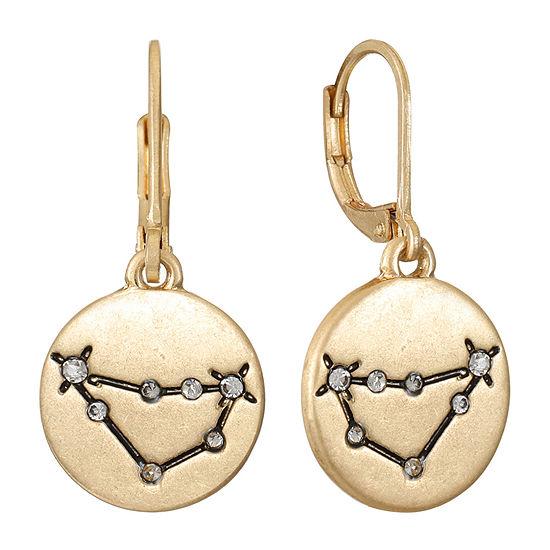 a.n.a Personalized Zodiac Jewelry Drop Earrings