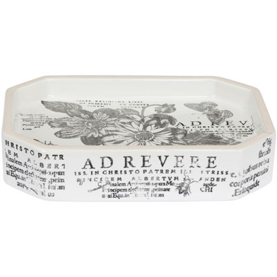 Creative Bath™ Sketchbook Botanical Toile Soap Dish
