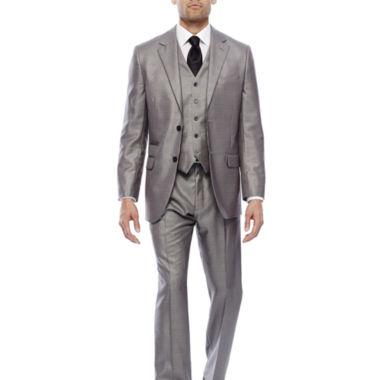 jcpenney.com | Steve Harvey® Black & White Plaid Suit Separates - Classic