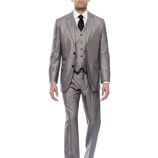 977bec547 Steve Harvey® Black   White Plaid Suit Separates - Classic - JCPenney