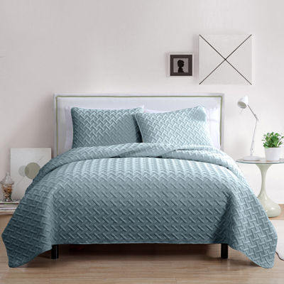 VCNY Nina Embossed Quilt Set - JCPenney : jcpenney quilts on sale - Adamdwight.com