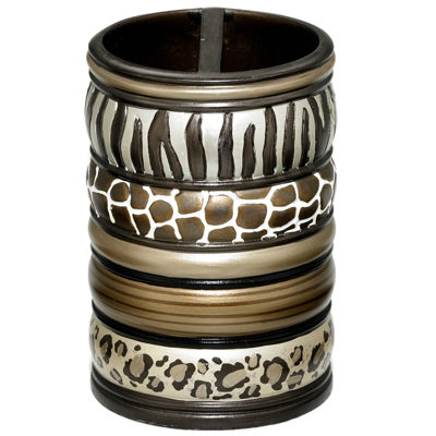 Safari Stripes Toothbrush Holder
