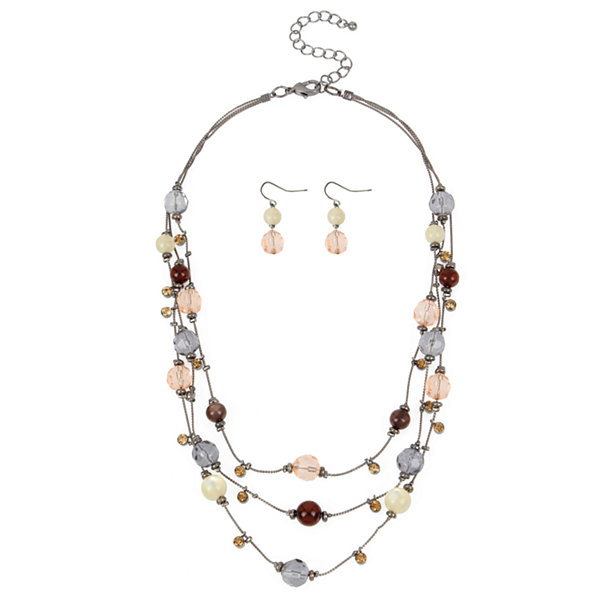Mixit Mixit Womens 2-pc. Necklace Set 3psuuKpbw