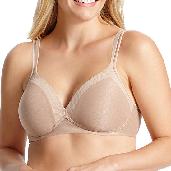adc6a9b7a6 Warners Play It Cool Full Figure Wireless Bra Rm2281a JCPenney