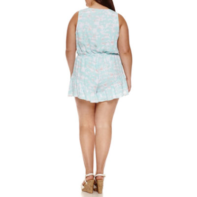 Decree Ruffle Romper - Juniors Plus