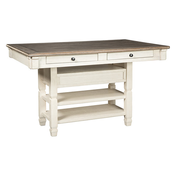 Signature Design by Ashley® Roanoke Rectangular Wood-Top Dining Table
