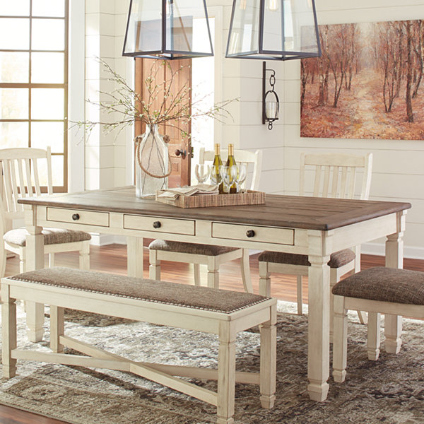 Jcpenney Furniture Dining Room Sets: Signature Design By Ashley® Roanoke Rectangular Wood-Top