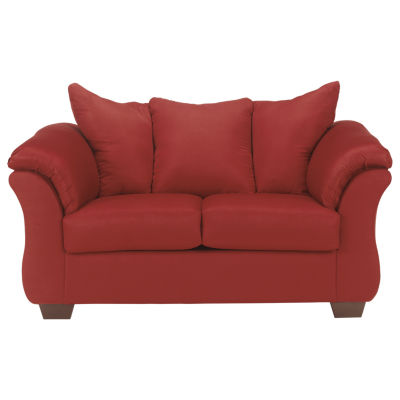 Signature Design by Ashley® Audrey Pad-Arm Upholstered Loveseat