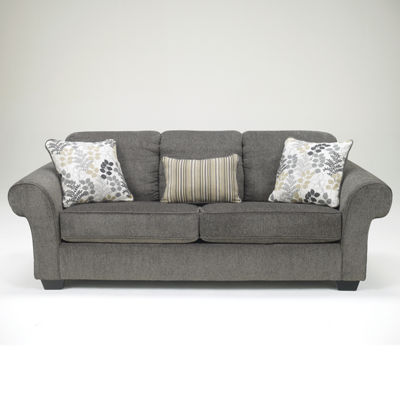 Signature Design by Ashley® Makonnen Roll Arm Upholstered Sofa