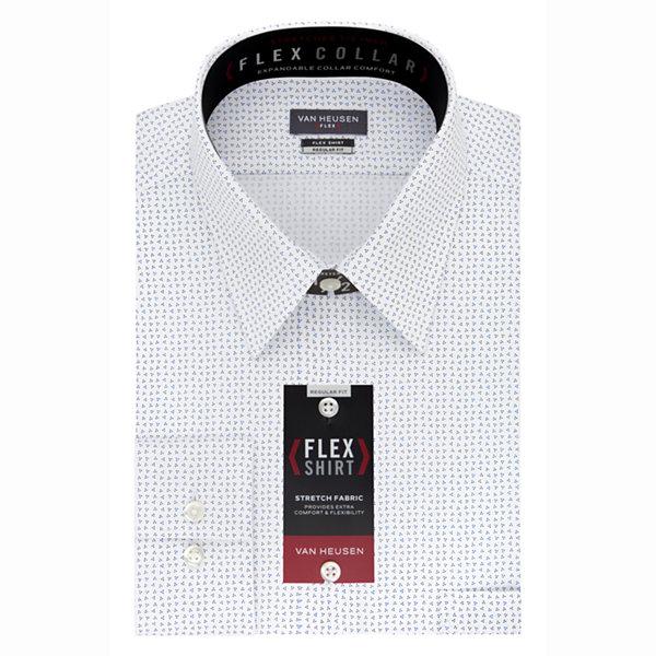 Van heusen flex collar dress shirt big tall jcpenney for Van heusen shirts flex collar