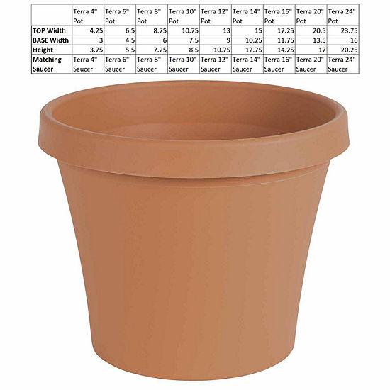 "Bloem Terra Pot 8"" Planter"