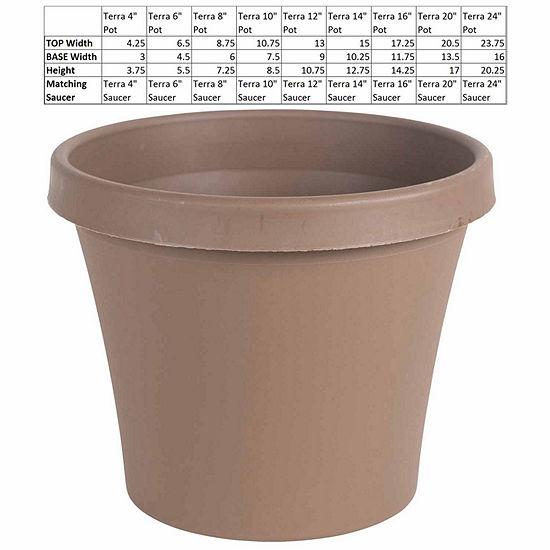"Bloem Terra Pot 10"" Planter"