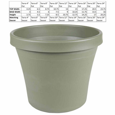 "Bloem Terra Pot 10"" Planter"