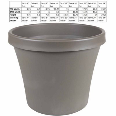 "Bloem Terra Pot 14"" Planter"