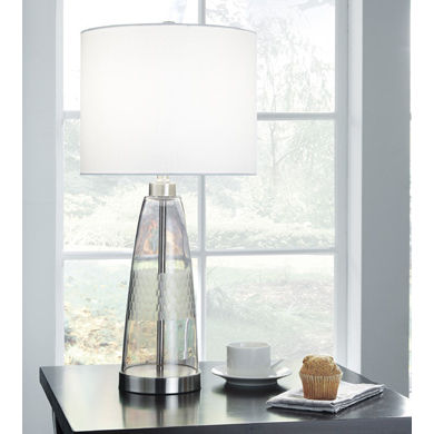 Signature Design by Ashley® Larrance Glass Table Lamp