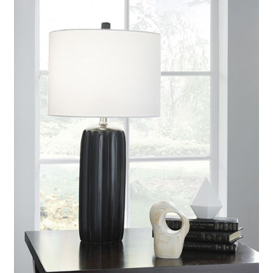 Signature Design by Ashley® Set of 2 Adorlee Ceramic Table Lamps